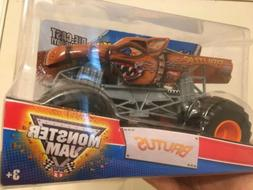 1/24 HOT WHEELS MONSTER JAM BRUTUS MAX-D DIE-CAST METAL BODY