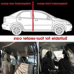 1.4m x 2.0m Car Taxi Uber Lyft Cab Divider Film Isolation Sh