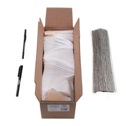 1000 pc box blank white tyvek tags