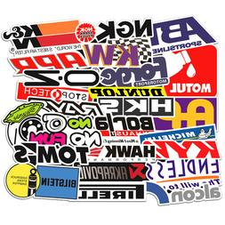 103Pcs Auto Car Parts NHRA Drag Racing Lot Vinyl Graphics St