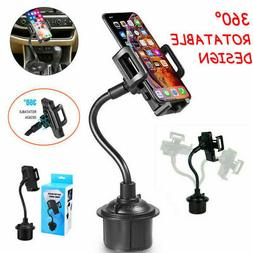 360° Universal Car Mount Adjustable Gooseneck Cup Holder Cr