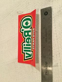 4 O'reilly auto parts sticker decals