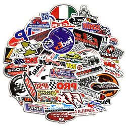 50Pcs Auto Car Parts NHRA Drag Racing Lot Vinyl Graphics Sti