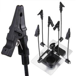 Airbrush & Spray Gun Parts Holder Clip Stand Holds Model Hob
