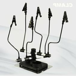 Airbrush & Spray Parts Holder Clips Stand Holds Model Hobby