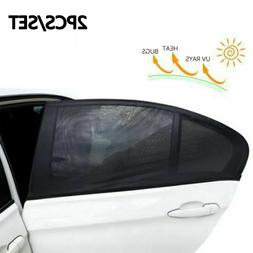 Auto Parts Car Window Shade Breathable Mesh Sunshade Cover S