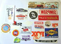 Auto Racing Auto Parts Stickers For Tool box-Garage-Car-Lock