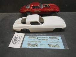 AWB Vette 1/25 Resin Body & Corvette Auto Parts Decal from F