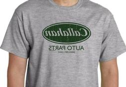 Callahan Auto Parts Funny T Shirt Tommy Boy Movie Humor Geek