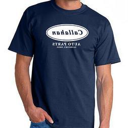 Callahan Auto Parts Tommy Boy Farley Funny T-Shirt Parody 4-
