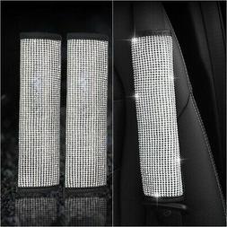 car auto interior rhinestone bling seat belts