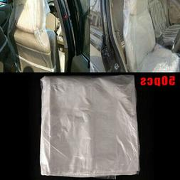 Car Seat Cushion Disposable Seat Cover Kick Pad Gadget Auto