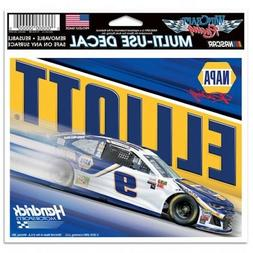 "CHASE ELLIOTT #9 NAPA AUTO PARTS RACING NASCAR  6"" X 4"" MULT"