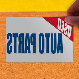 Decal Sticker Used Auto Parts Car Auto Body Shop Repair Auto