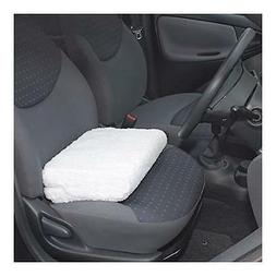 DRIVER'S ANGLE LIFT SEAT CUSHION WITH WASHABLE SEAT CUSHION
