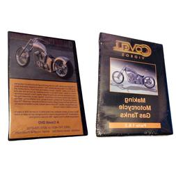 DVD Making Motorcycle Gas Tanks Parts 1 & 2 Covell Videos Au
