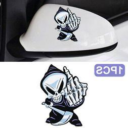 f82e 8439 decorative stickers skeleton cars auto