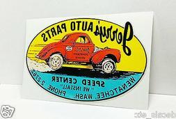 JERRY'S AUTO PARTS Washington Vintage Style DECAL / STICKER,