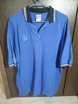 Koi Auto Parts AC Delco Short Sleeve Polo Racing Shirt Mens