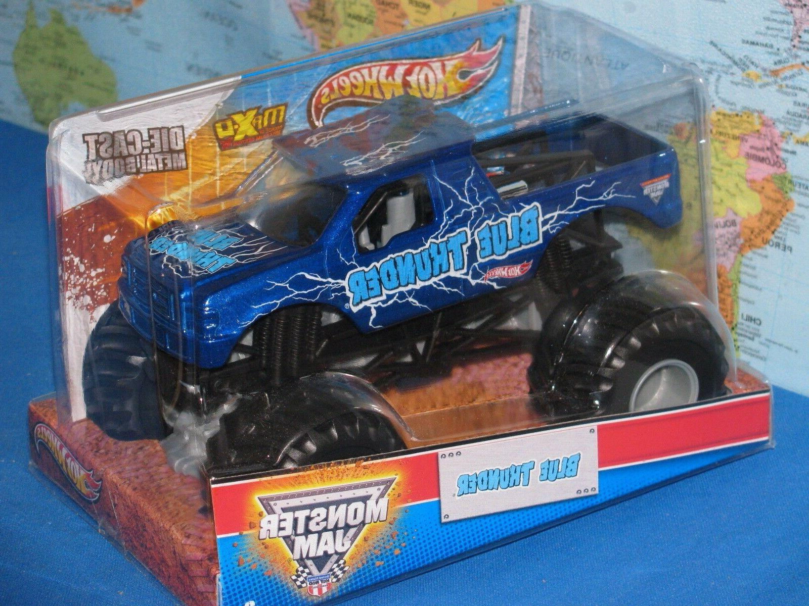 1/24 HOT WHEELS MONSTER JAM TRUCK DIE-CAST MAX-D ADVANCE PARTS