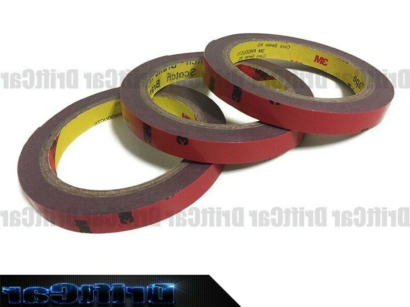 3 roll of 5112 automotive acrylic double