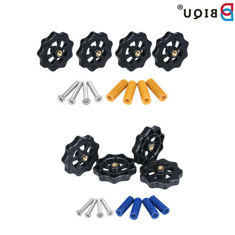 3d printer parts auto leveling nuts spring