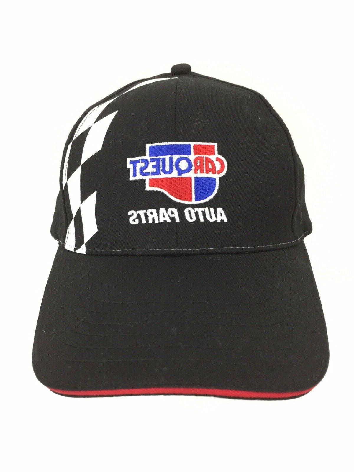 Carquest Auto Flag Over Hat Nascar Trucker