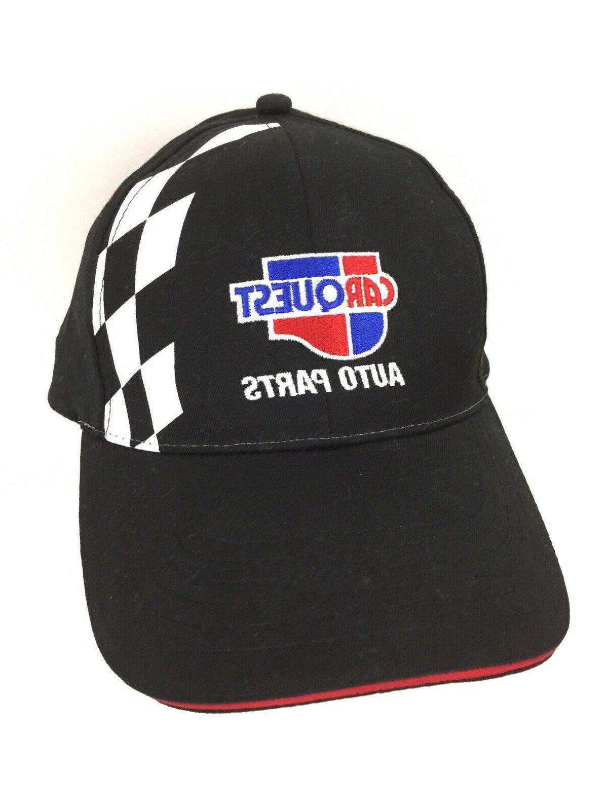 Carquest Parts Cap Flag Hat Racing Trucker