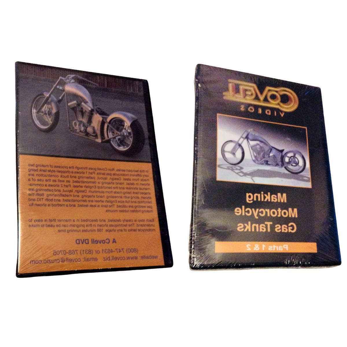 dvd making motorcycle gas tanks parts 1