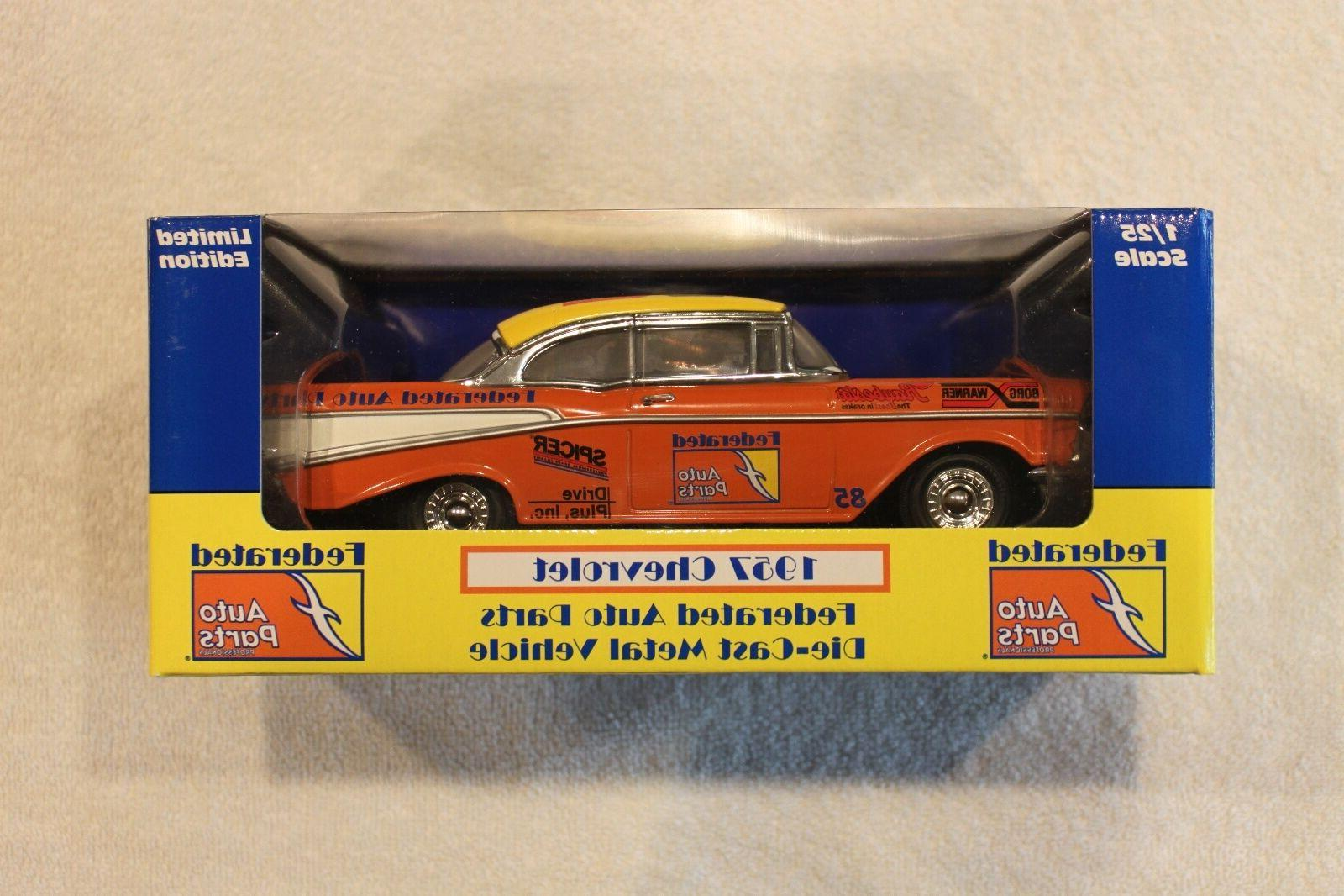 federated auto parts 1957 chevrolet collectable