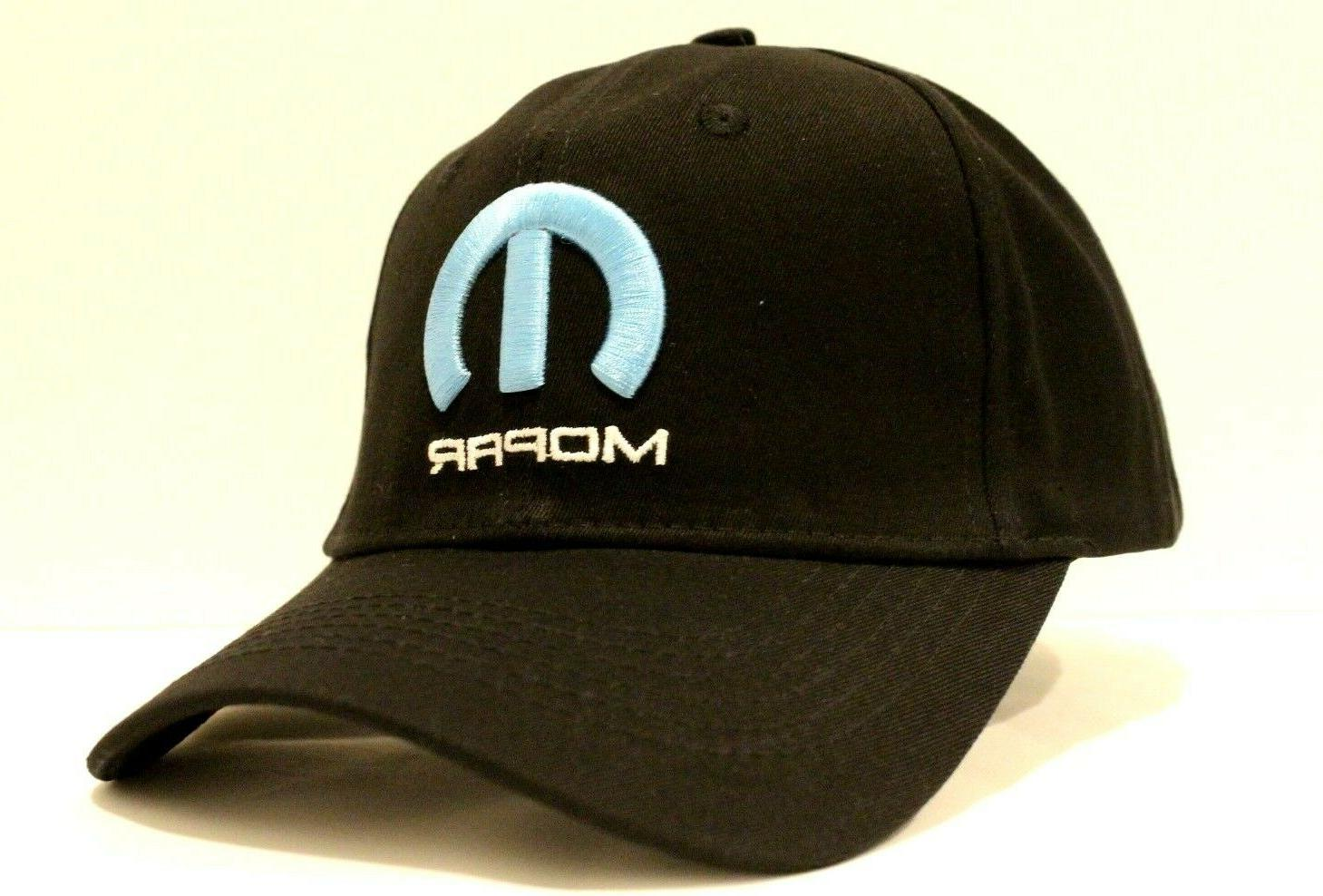 mopar hat baseball black cap auto parts