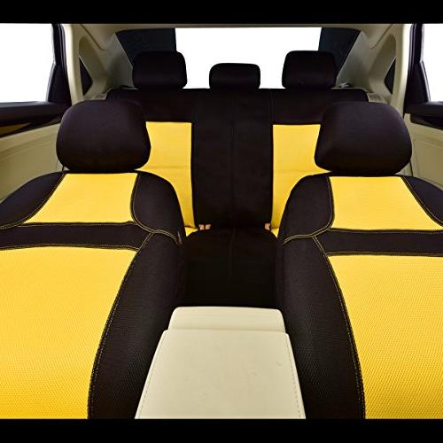 NEW CAR PASS RAINBOW Universal Seat With Composite Sponge Inside,Airbag