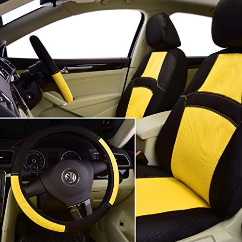 NEW PASS RAINBOW Fit Car Seat Cover With 5mm Inside,Airbag
