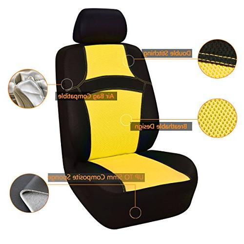 NEW RAINBOW Universal Seat Cover With 5mm Sponge Inside,Airbag