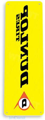 TIN SIGN Dunlop Tires Metal Décor Art Auto Shop Parts Store