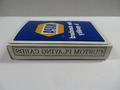 Vintage AUTO Playing Cards DECK Unopened NEW