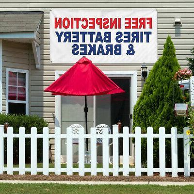 Vinyl Auto Parts Yard Signs
