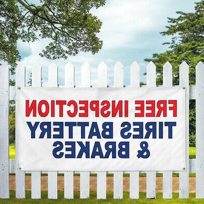 Vinyl Multiple Options Auto Weatherproof Yard Signs