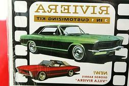 Model Car Parts AMT-(1965 Buick } ,  Body,Glass ,Chrome ,Int