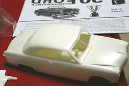 Model Car Parts 50 FORD CONV. Body,Glass ,Chrome ,Interior,C