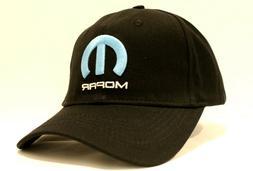 Mopar Hat Baseball Black Cap Auto Parts Car Racing Blue M Em