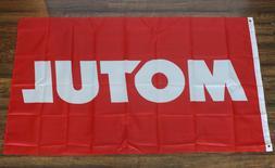 Motul Banner Red Flag Motor Oil Racing Auto Car Parts Formul