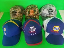 Napa auto  parts Hats. Lot of 6 Baseball Caps. 5 new 1 used.