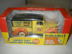 NEW FEDERATED AUTO PARTS 1947 DODGE CANOPY DELIVERY TRUCK ER