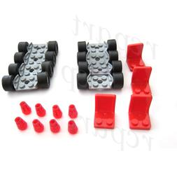 New Lego wheels tires axles rims seat auto truck car parts 5