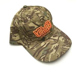 O'Reilly Auto Parts Men Camouflage Baseball Trucker Strapbac