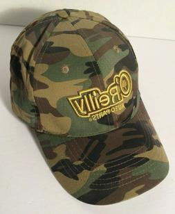 O'Reilly Auto Parts Camo Forest Baseball Hat Adjustable
