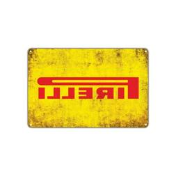 Pirelli Tires Wall Art Decor Auto Shop Parts Store Garage Re