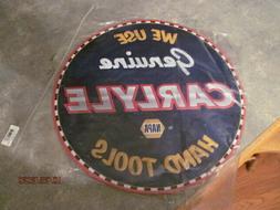 Napa Auto Parts pressed metal 16 inch vintage look Carlyle t