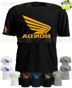 racing motorcycle atv wing logo tee shirt